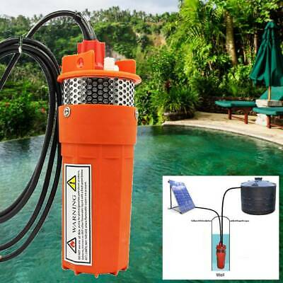 Solar Powered Panel 12V DC Deep Well Submersible Water Pump for Farm Industrial