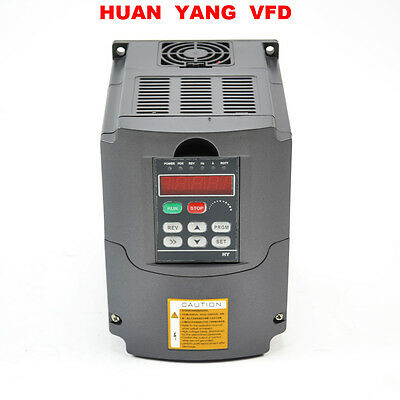 TOP   2HP  Frequenzumrichter Variable Frequency Drive InverterHY VFD 1.5KW 380V