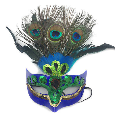 Makeup Mask Prom Mask Peacock Feather Mask Party Mask Venetian Masquerade Mask - Venetian Mask Makeup