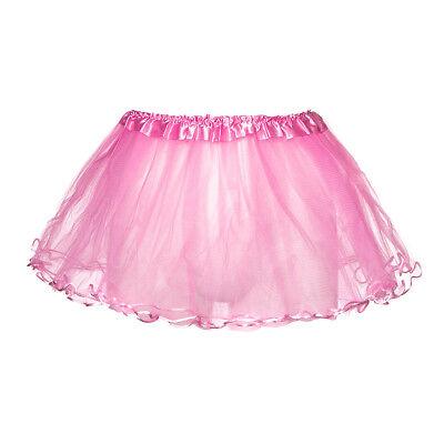 k 30cm Tutu Skirt/Petticoat - 80s Neon Fancy Dress/Hen Party (Neon Blue Tutu)