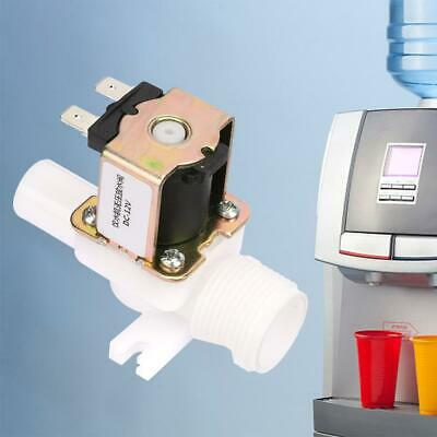 Dc12v 34 Thread Plastic Electric Nc Solenoid Valve For Water Dispenser Durable
