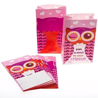 Owl Valentine's Day Treat - Owl Treat Bags