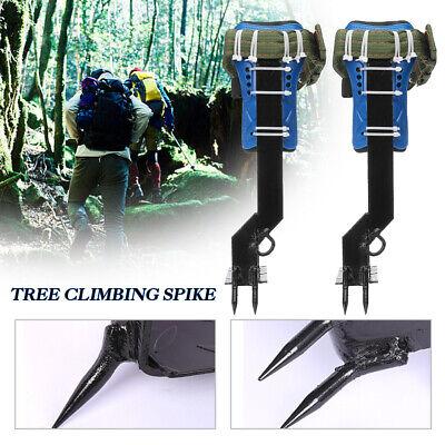 Tree Climbing Spike Spurs Irons Gaffs Safety Lanyard Belt Saddle Outdoor Tool Pi