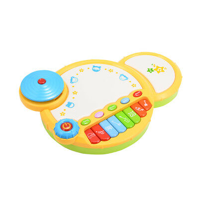 Kids Baby Drum Set Learning Musical Instruments Boy Girl Band Kit Children Toys