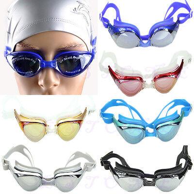 Schwimmbrille Anti-Fog UV-Schutz Taucherbrille Trainning Schwimmen Brille Unisex
