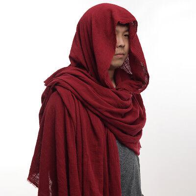 GRAJTCIN Unisex Full Length Velvet Stand Collar Cape Halloween Christmas Cloak