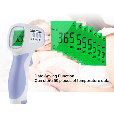 Non-contact Lcd Ir Human Body Infrared Digital Temperature Thermometer Meter