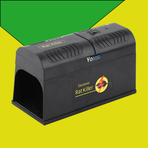 2X Electronic Mouse Trap Victor Control Rat Killer Pest
