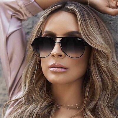 "NEW QUAY AUSTRALIA X DESI PERKINS Black Fade ""HIGH KEY MINI"" Sunglasses -SALE"