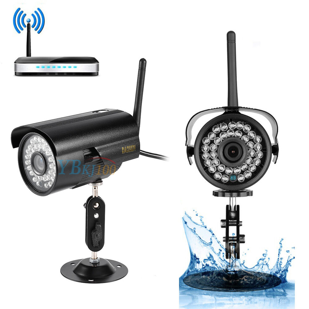 Exterior Home Security Cameras: HD Home CCTV Security IP Camera Wifi Wireless System