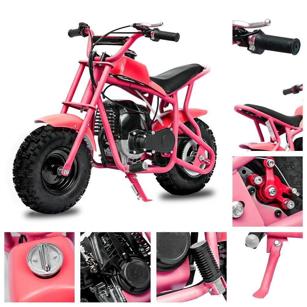 2021 DB003 40CC 4-Stroke Kids Off Road Mini Dirt Bike, Kid G