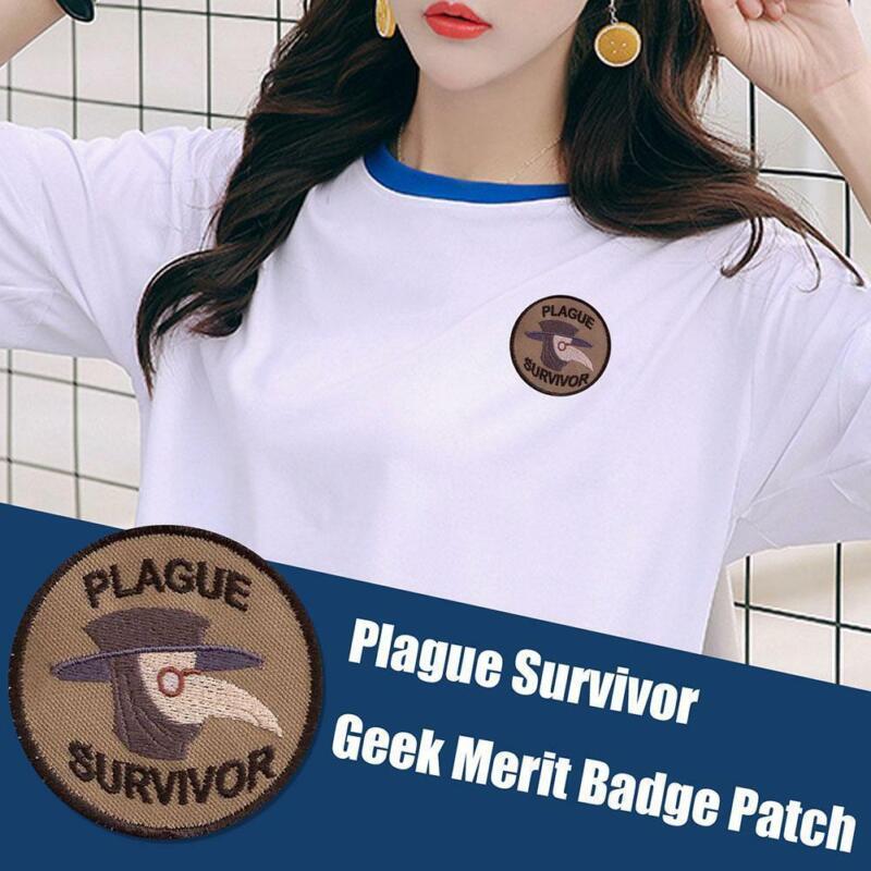 2021 Plague Survivor Geek Merit Clothes Sewing Badge ...