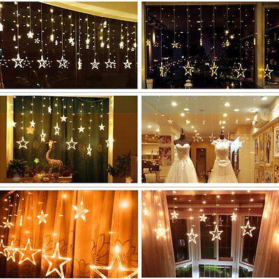 LP LED Weihnachten Sterne Lichterkette Licht Gadine Anhäner Deko Nacht