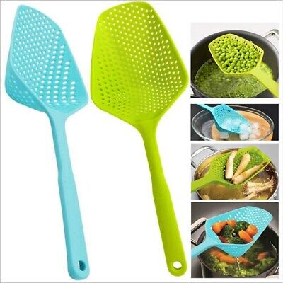 Home Kitchen Accessories Scoop Drain Gadgets Strainer Vegies Large Spoon Tools