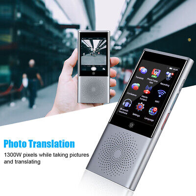 Ai Smart Voice Translator Real Time 45 Language Translation Wifibtgps 1g8g