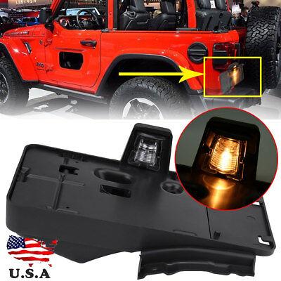 License Plate Holder Light (Rear License Plate Tag Holder Bracket With Light For 2006-2017 Jeep Wrangler JK )
