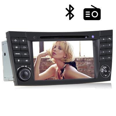 Autoradio GPS Navi DVD Bluetooth DVB-T TV DVR FM USB Für Benz E Klasse W211 W219 Radio Tv Bluetooth
