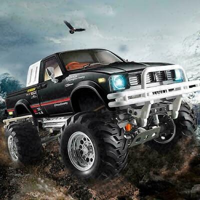 HG P407 1/10 2.4G 4WD Metall Rally RC Auto für TOYATO Metal 4X4 Pickup Truck Roc