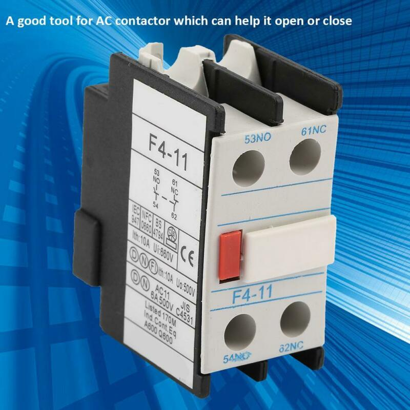 F4-11 LADN11 Schneider Electric Auxiliary Contact Block Fit