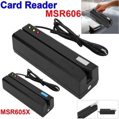 Msr605 Magnetic Stripe Card Reader Writer Encoder Credit Magstrip Msr206 Msr606