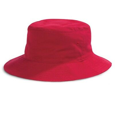 Red Bucket Hat LL Cool J Costume Rap Rapper Hip Hop 80s 90s Old School Cap Gift