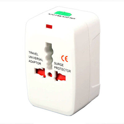 International All-in-One Travel Adapter Power Charger Plug Universal US/AU/EU/UK