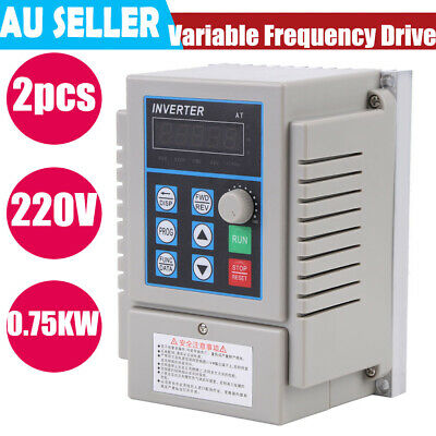 2hp 0.75kw Single Phase To 3three Phase Variable Frequency Drive Vfd 220v