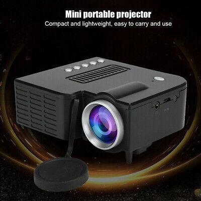 UC28C Mini Portable Family LED Micro Mobile Phone Video Projector Home Theater