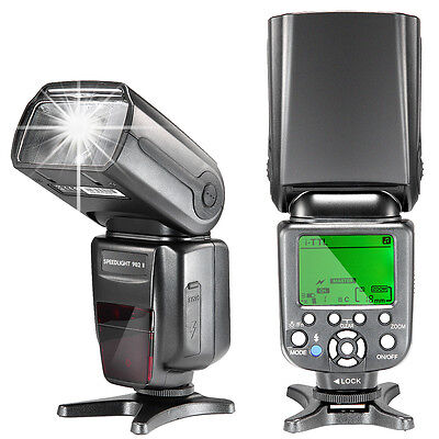 Nw982ii Itll  High Speed Sync  Lcd Display Speedlite Flash For Nikon