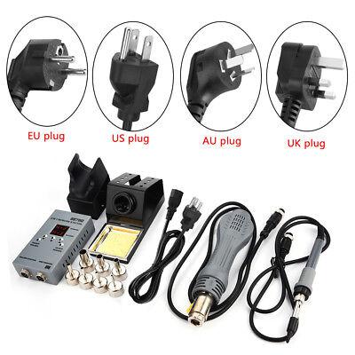 8878d 2 In 1 Smd Rework Station Hot Air Gun Soldering Iron Phone Repair Tool