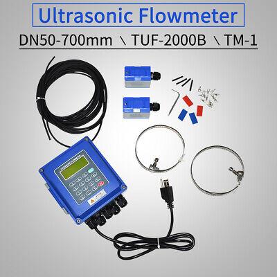 Tuf-2000b Ultrasonic Flow Meter Liquid Flowmeter W Tm-1 Transducer Dn50-700mm