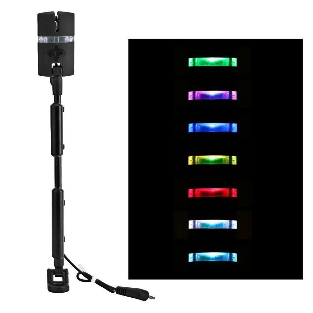 Karpfenangeln Bissanzeiger Swinger Aufhänger 7 Farbe LED Bissanzeiger Angelgerät
