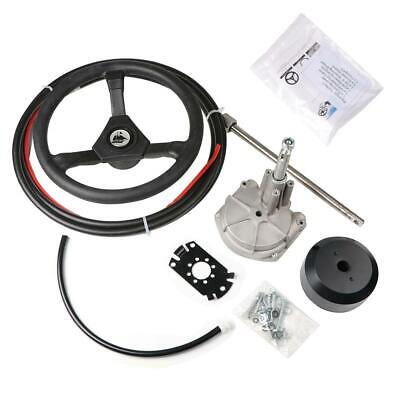 Boat Rotary Steering System Outboard Kit 14 Feet Marine With 13