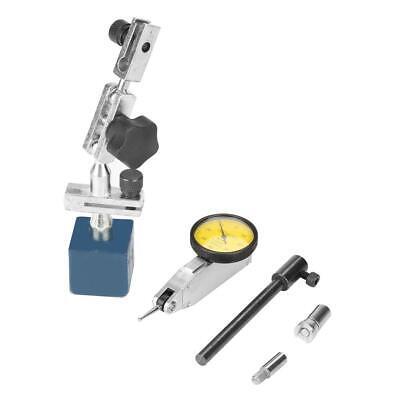 Adjustable Magnetic Base Stand Holder With Dial Test Indicator Gauge 0-0.8mm Usa