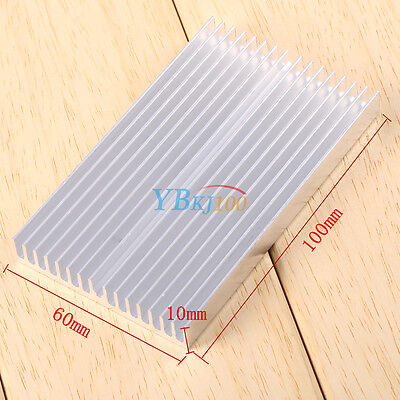 1Pcs 100X60x10mm Aluminum Heat Sink Led Power Ic Transistor Dc Convertidor Lj