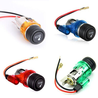 Portable 12V 120W Motor Boat Car Cigarette Lighter Power Socket Outlet Plug Well Car Electronics Accessories