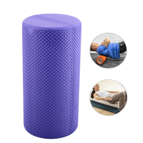 30x14.5cm EVA Yoga Pilates Fitness Foam Roller Massage Point Colorful New*