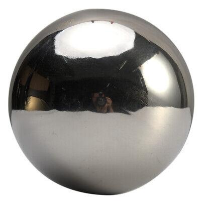 1pc Sphere Garden Ornament Hollow Gazing Globe Ball Decoration Stainless Steel