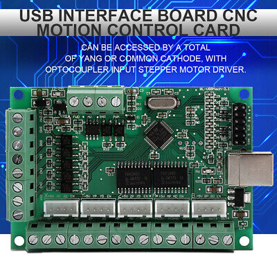 Usb Interface Board Cnc Mach3 Motion Control Card For Engraving Machine Cd