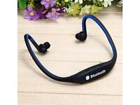 Sport Wireless Bluetooth Stereo Headphone Headset Earphone for Samsung iPhone & Android