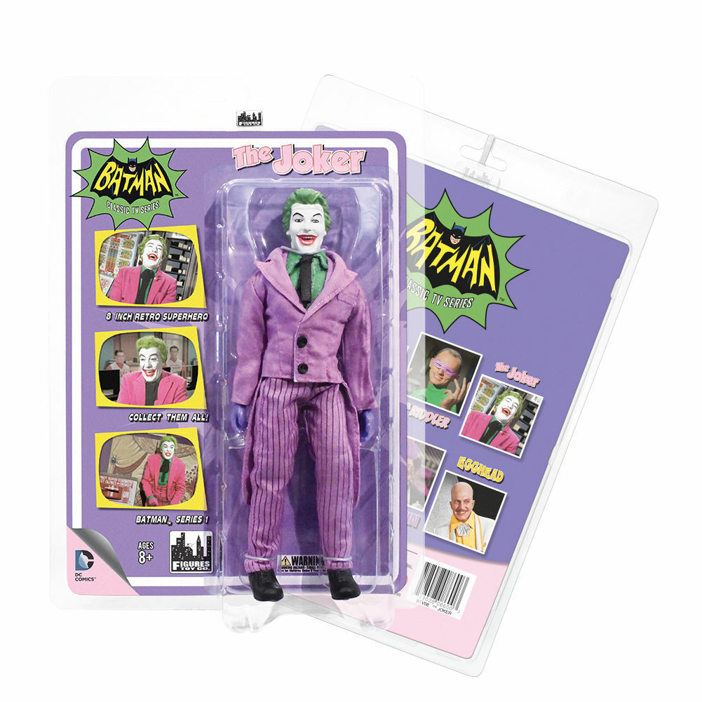 Batman: Retro 1966 TV Series 1 Action Figure - Joker