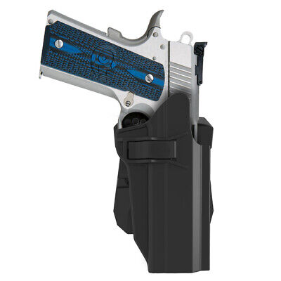 Paddle Holster For Colt 1911 Cover W/Without Rail 360° Adj. 3