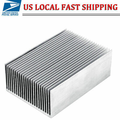 Heatsink Aluminum Heat Sink Cooling For Led Power Ic Transistor Module Power New