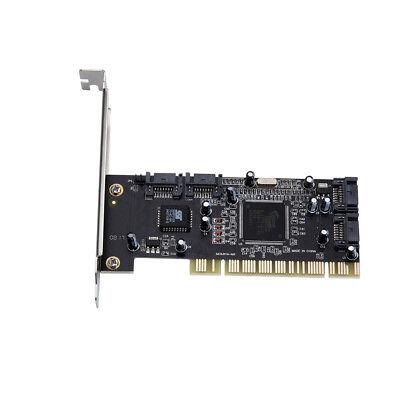 PCI zu 4 Ports SATA Serial ATA RAID Sil3114 3114 Konverter Controller E/A-Karte