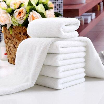 Hotel Waschlappen (1pc Weiß Weich Heim Hotel Badetuch Waschlappen Reise Handtuch 30x70cm Sanwood)