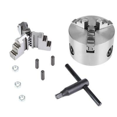 3inch K11-80 Metal 3 Jaw Lathe Chuck 80mm Precision Self Centering Hardened