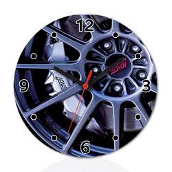 Car Wheel Funny Wall Clock Home Room Decor Gift