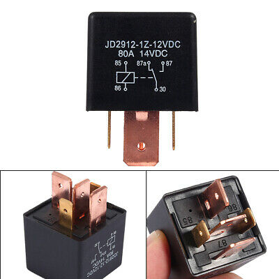 Automotive 12v 80a 5 Pin Relay Long Life Time Delay Automotive Relays For Car Us
