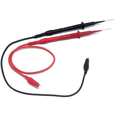 Aidetek Hard Stainless Steel Needle Test Leads 600v 1a 4mm P1040 For Fluke Meter