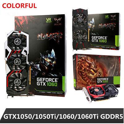 Colorful Genuine GeForce GTX 1050/1060 6GB GDDR5 Gaming Video Graphics Card LJ